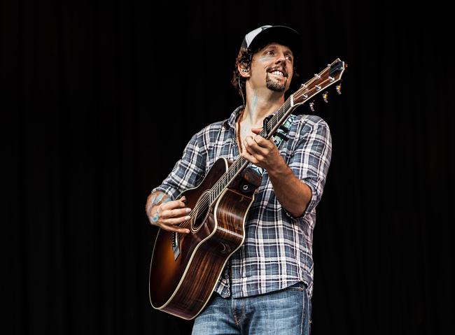 American folk-pop singer Jason Mraz. (9 Entertainment)