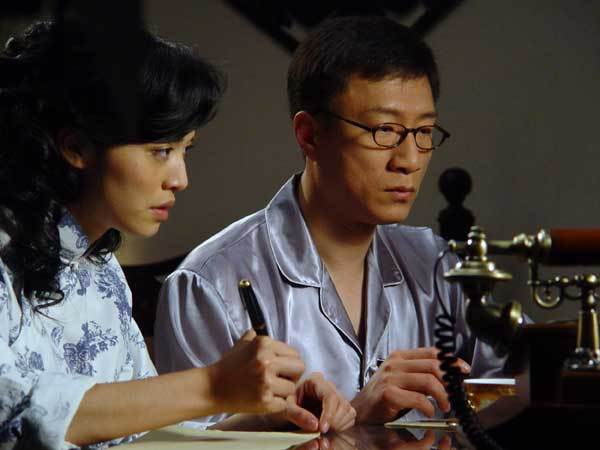 A scene from the popular spy-themed TV serial Lurk in 2009. (China Daily)