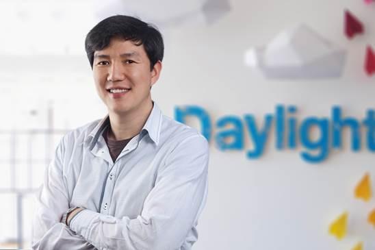 Daylight Design principal Daniel Kim. (Chung Hee-cho/The Korea Herald)