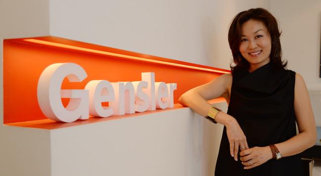 K. Chung, managing director of Gensler Korea (Ahn Hoon/The Korea Herald)