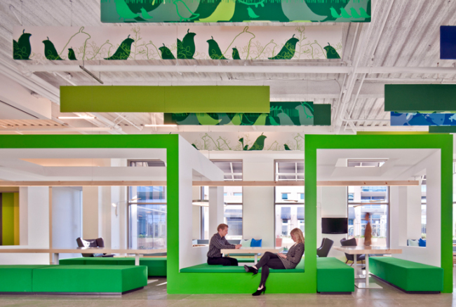 Nokia's Sunnyvale Campus, photographed by Nic Lehoux (Gensler)