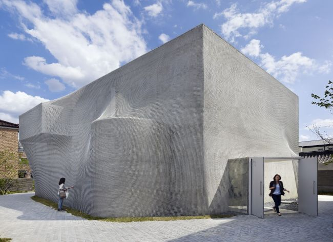 K3, one of the three gallery buildings of Kukje Gallery, won a New York Design Award from the American Institute of Architects in 2011. (Kukje Gallery)