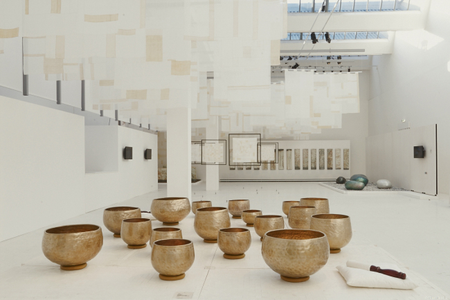 The view of Korean craftworks showcased during Milan Design Week in April this year. The exhibition will be shown to Korean audiences again during the Craft Trend Fair 2014 from Dec. 18-21 in Seoul. (Korea Craft and Design Foundation)
