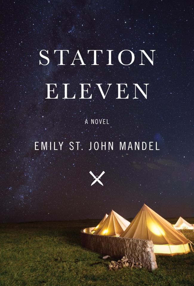 """Station Eleven"" by Emily St. John Mandel. (Random House)"
