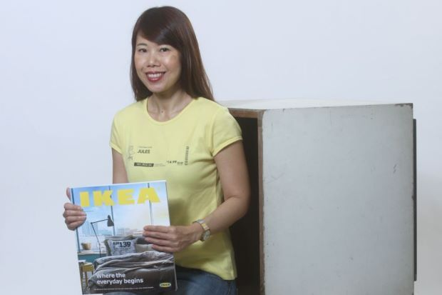 Malaysian blogger Jules Yap founded Ikea Hackers on the basis of collecting quirky DIY ideas for her own apartment. (The Star)