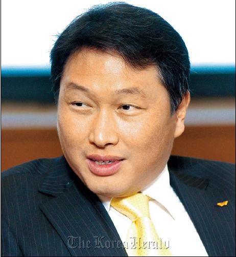 SK chairman Chey Tae-won