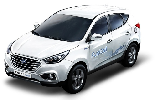 Hyundai's Tucson FCV with a price tag equivalent to $139,000 (excluding subsidies) in Korea