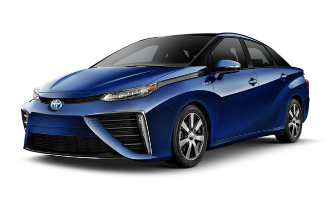 Toyota's Mirai FCV with a price tag equivalent to $62,000 (excluding subsidies) in Japan