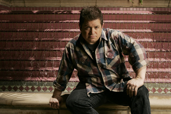 Actor Patton Oswalt at the Four Seasons in Beverly Hills, California, 2007. (Kevin Sullivan/Orange County Register/TNS)