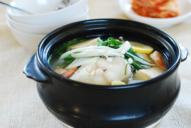 How to cook korean foods best february 2015 for Cod fish stew