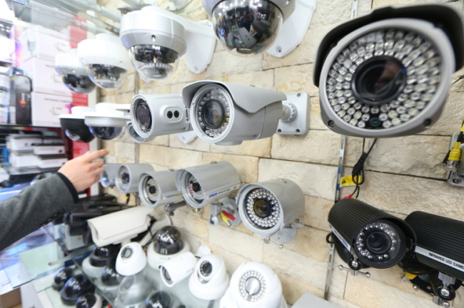 Sales of CCTV cameras are surging amid a series of child abuse scandals. (Yonhap)