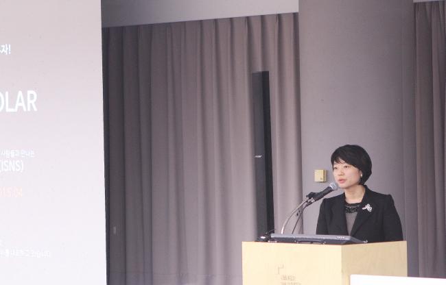 Han Seong-sook, general director of Naver's service departments. ( Naver)