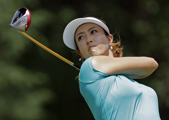 The 25-year-old Michelle Wie won the U.S. Women's Open last year at Pinehurst. (AP-Yonhap)