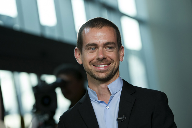 Twitter founder and chairman Jack Dorsey. (Bloomberg)