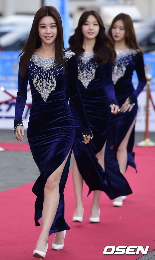 Girl's Day members Sojin, Hyeri and Minah (OSEN)