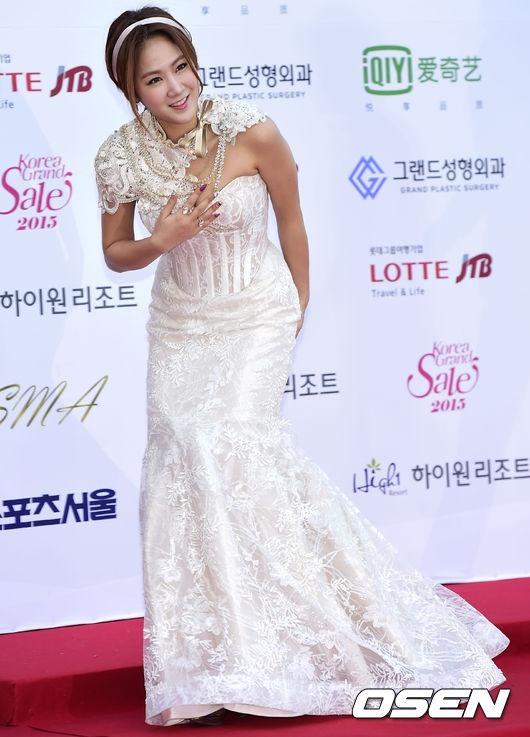 Sistar's Soyou arrived separately (OSEN)