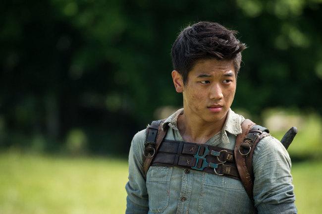"""Ki-hong Lee in """"The Maze Runner"""" (21st Century Fox)"""
