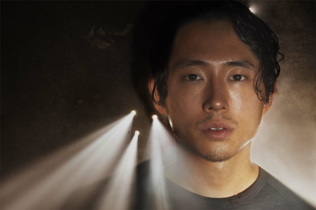 """Steven Yeun in """"The Walking Dead"""" (AMC)"""