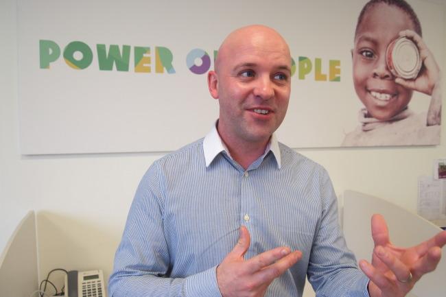 Chris Ashworth, international market development manager at Oxfam Great Britain