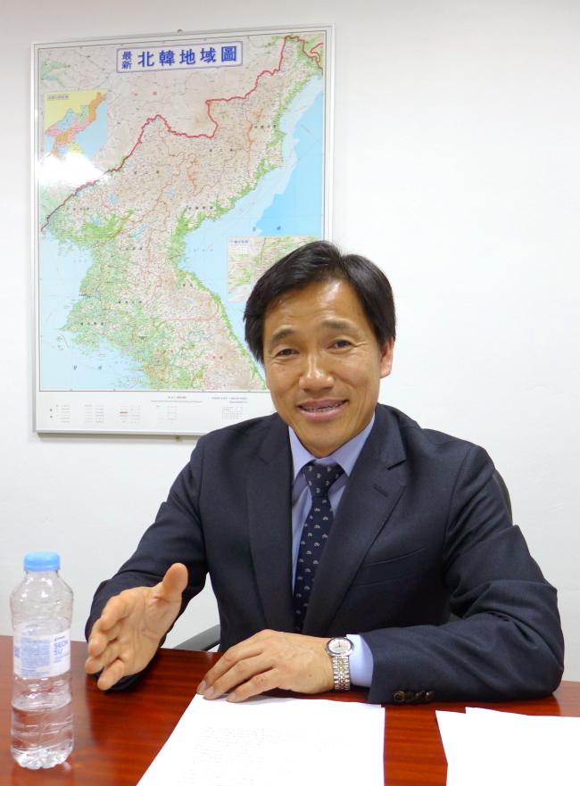 Professor Park Byung-in. (Joel Lee/The Korea Herald)