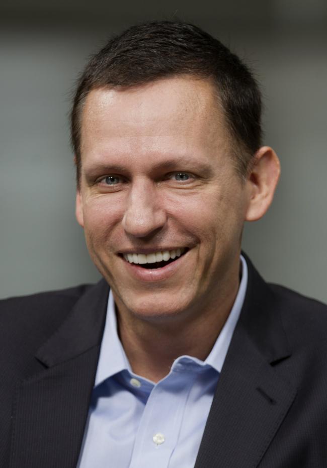 Peter Thiel. (Bloomberg)