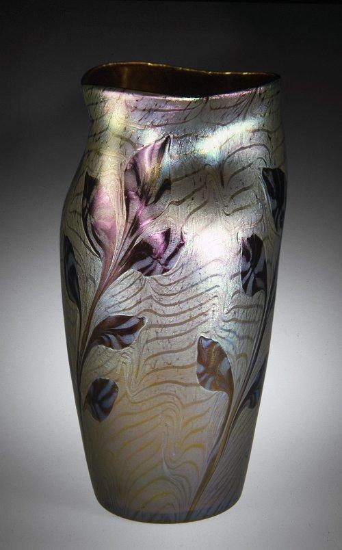 """""""Vase,"""" Loetz factory, made in 1902"""