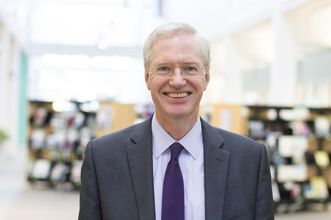 Tim Blackman, acting vice chancellor of the Open University