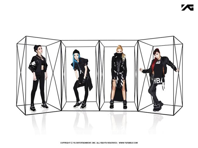 2NE1. (YG Entertainment)