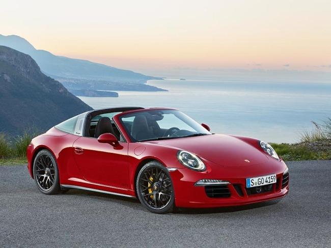 Porsche's new 911 Targa 4 (GTS)