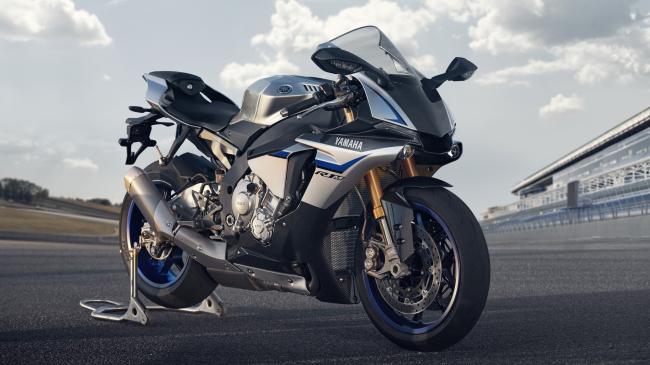Yamaha YZF-R1M race motorbike