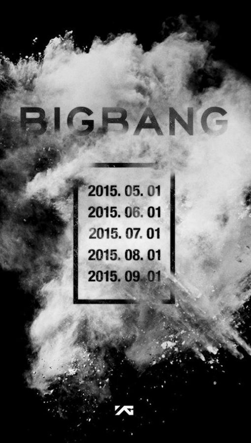 A poster announcing Big Bang's comeback is shown on the group's official Facebook account. (YG Entertainment)