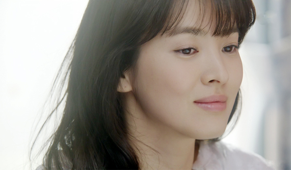 "Song Hye-kyo in ""That Winter, the Wind Blows."" (SBS)"