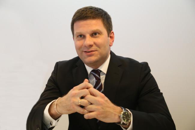 Jaguar Land Rover regional director Dmitry Kolchanov