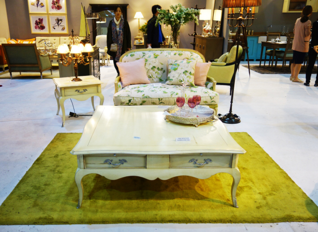 French-style interior at Grange (Rumy Doo/The Korea Herald)