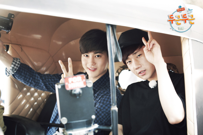 Sunggyu with Suho (KBS)