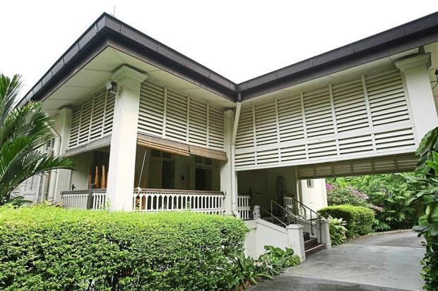 Lee Kuan Yew's home. (The Straits Times)