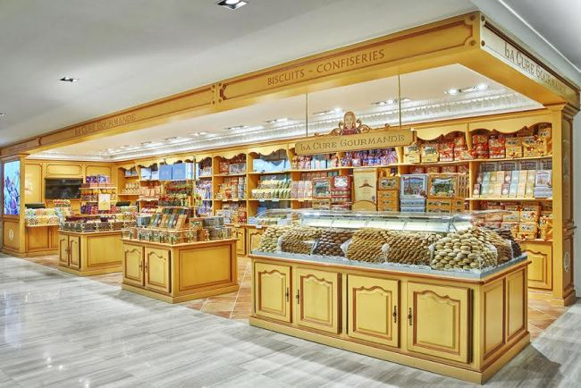 A photo of La Cure Gourmande outlet at Lotte Department Store in Sogong-dong, central Seoul. (La Cure Gourmande)