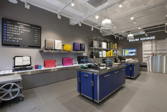 The Raum Voyage flagship store in Apgujeong-dong, Seoul. (LF Corp.)