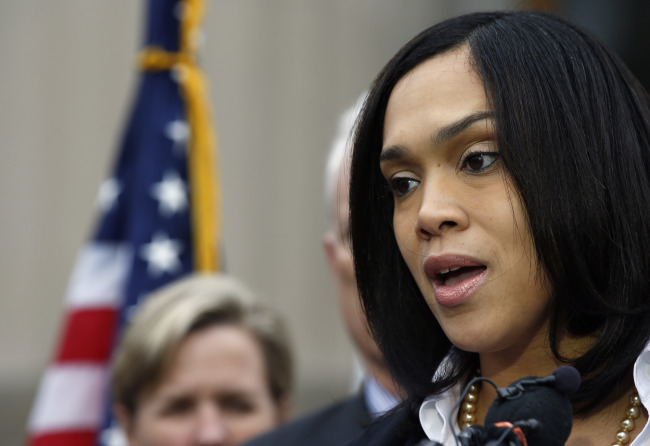 State's Attorney Marilyn Mosby (AP)