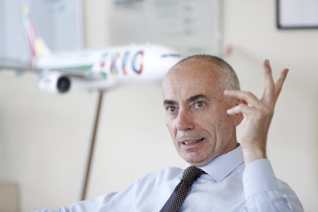 Alitalia CEO Silvano Cassano. (Bloomberg)