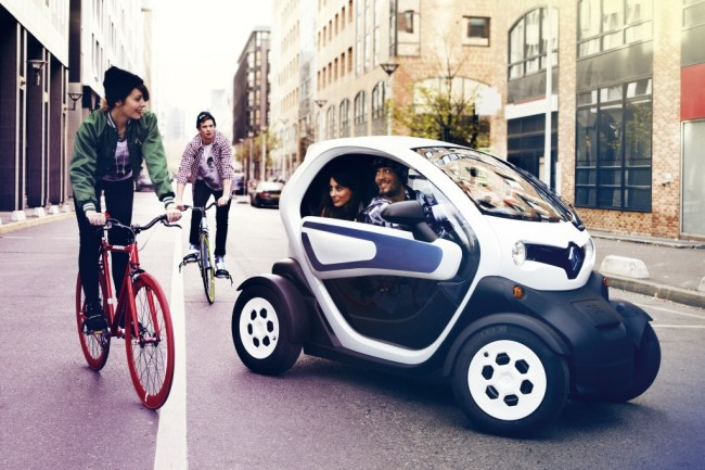 Renault Samsung's ultrasmall EV Twizy (Yonhap)