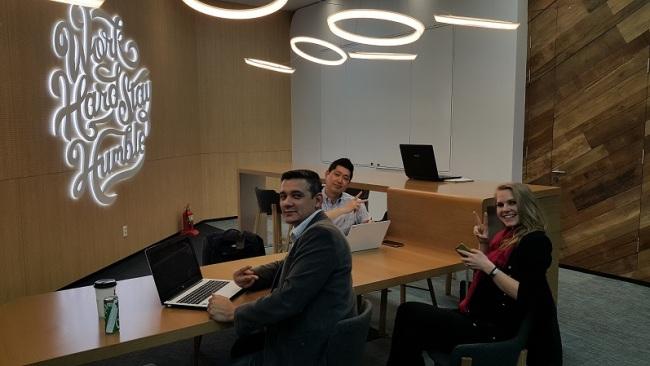 Apora Ventures' Korea team at Google Campus Seoul