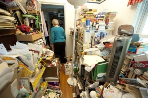 Anxiety associated with an adult hoarder