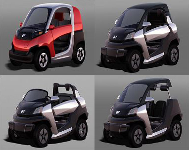 Design of micro-mobility vehicles developed by the Industry ministry-funded research team. (Ministry of Trade, Industry and Energy)