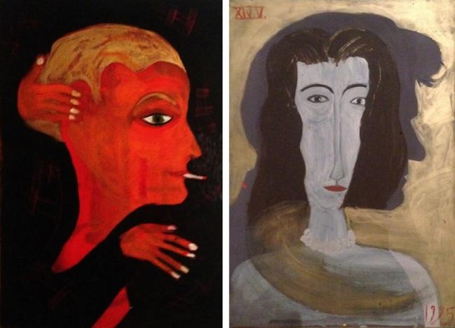Portraits by Jean-Charles de Castelbajac (Art Delight)