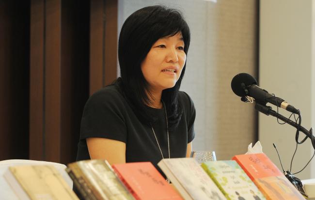 Shin Kyung-sook. (Korea Herald file photo)