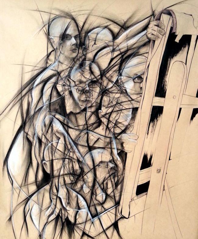 """Chasing Myself Around the Mirror"" by Mike Stewart"
