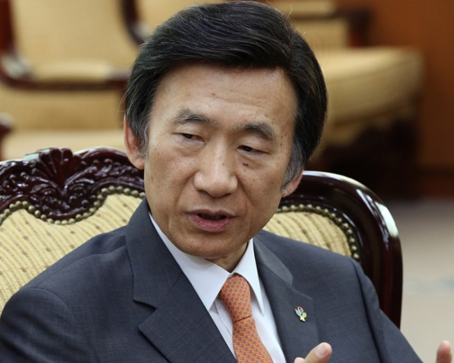 Foreign Minister Yun Byung-se (Yonhap)