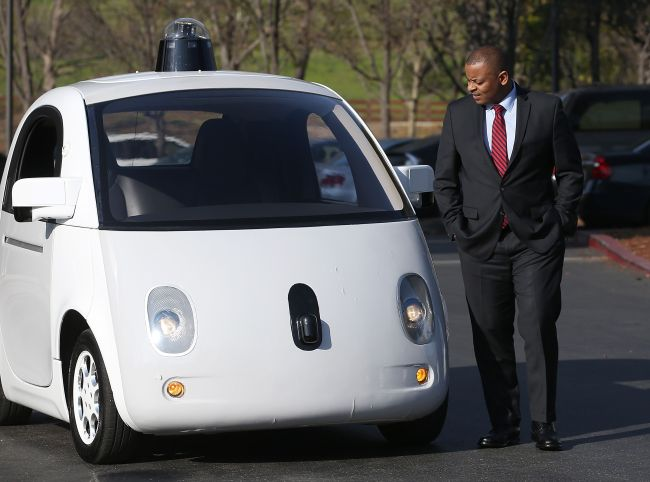 Google's self-driving car (AFP)