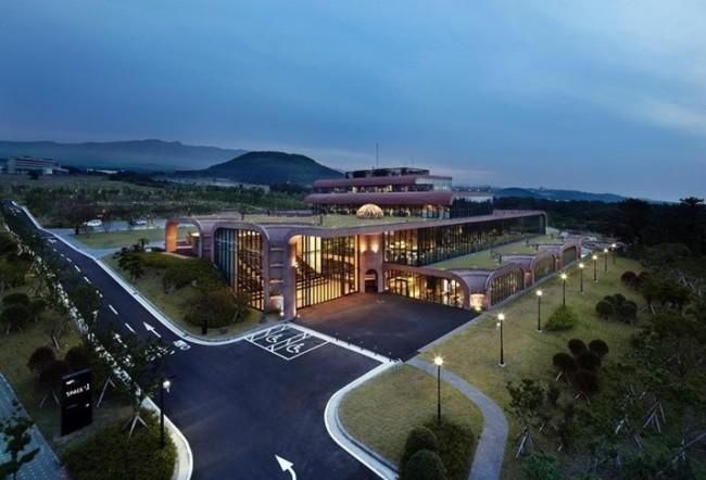 Daum Kakao headquarters on Jejudo Island